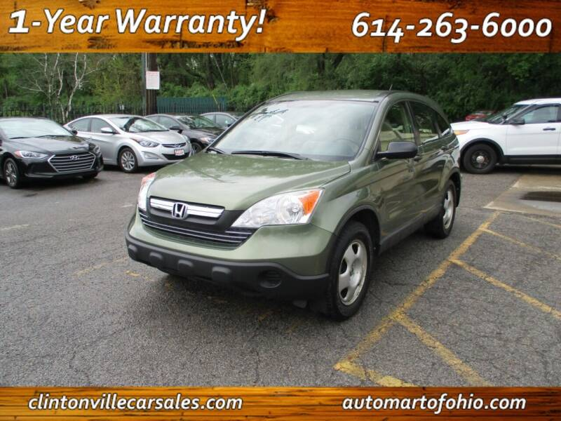 2008 Honda CR-V for sale at Clintonville Car Sales - AutoMart of Ohio in Columbus OH