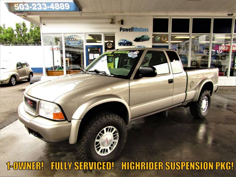 2001 GMC Sonoma for sale at Powell Motors Inc in Portland OR
