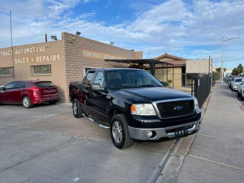 2007 Ford F-150 for sale at CONTRACT AUTOMOTIVE in Las Vegas NV