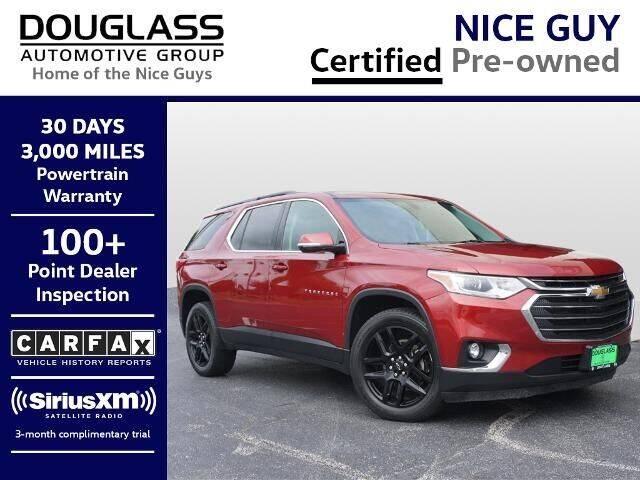 2019 Chevrolet Traverse for sale at Douglass Automotive Group - Douglas Mazda in Bryan TX