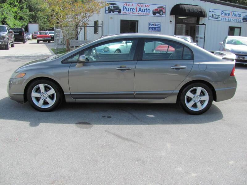 2007 Honda Civic for sale at Pure 1 Auto in New Bern NC