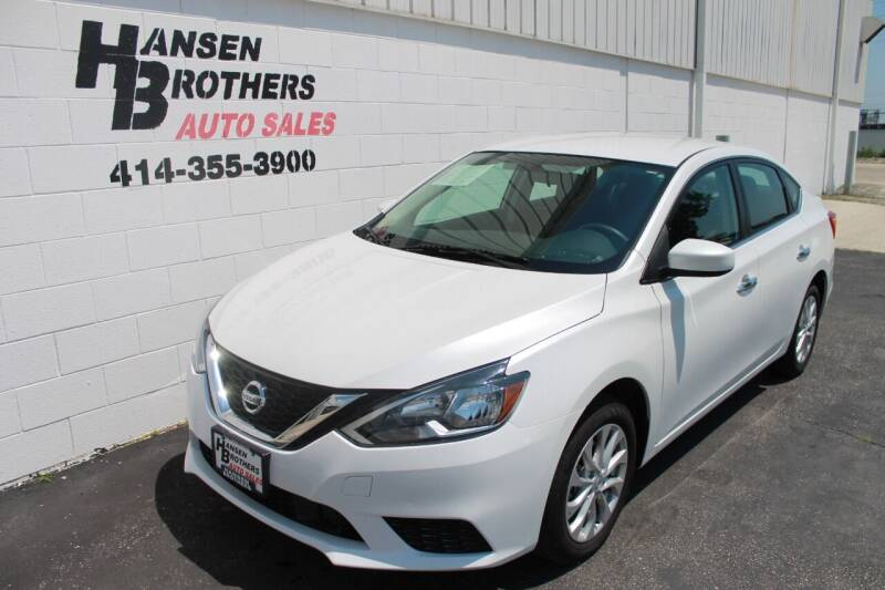 2019 Nissan Sentra for sale at HANSEN BROTHERS AUTO SALES in Milwaukee WI