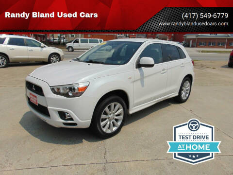 2011 Mitsubishi Outlander Sport for sale at Randy Bland Used Cars in Nevada MO