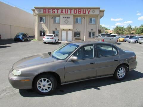 1999 Chevrolet Malibu for sale at Best Auto Buy in Las Vegas NV