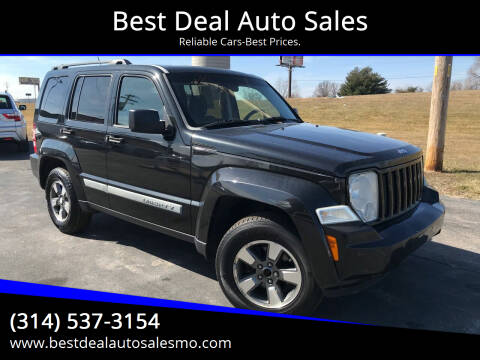 2008 Jeep Liberty for sale at Best Deal Auto Sales in Saint Charles MO
