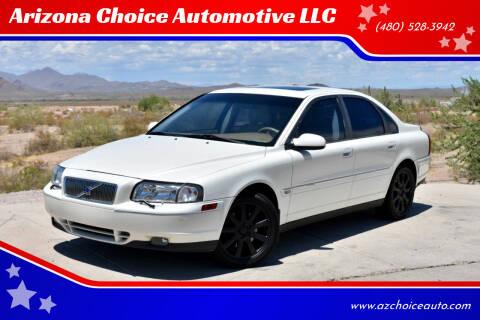 2002 Volvo S80 for sale at Arizona Choice Automotive LLC in Mesa AZ