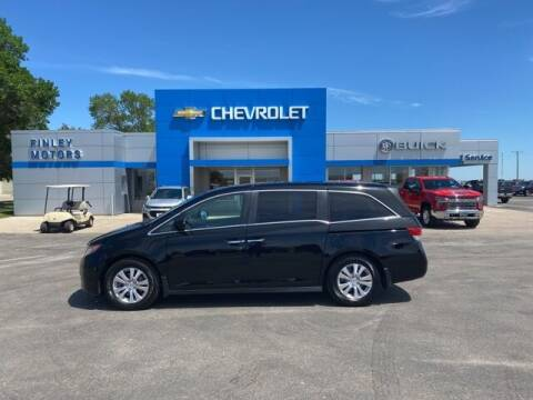 2016 Honda Odyssey for sale at Finley Motors in Finley ND