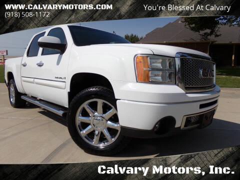2009 GMC Sierra 1500 for sale at Calvary Motors, Inc. in Bixby OK