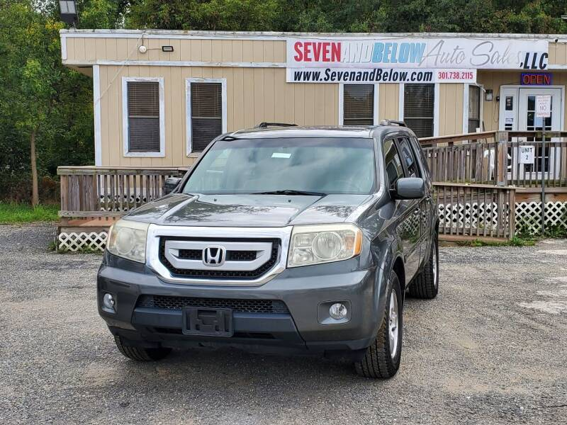 2009 Honda Pilot for sale at Seven and Below Auto Sales, LLC in Rockville MD