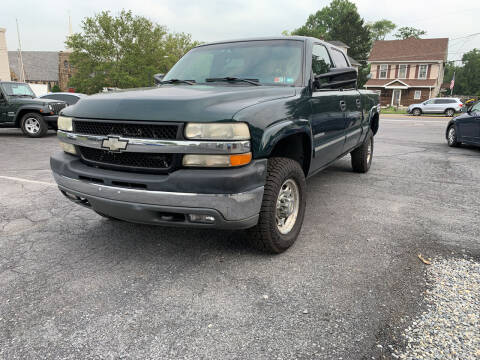 2002 Chevrolet Silverado 2500HD for sale at 1NCE DRIVEN in Easton PA
