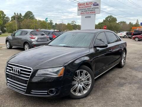 2012 Audi A8 L for sale at Drive Auto Sales & Service, LLC. in North Charleston SC