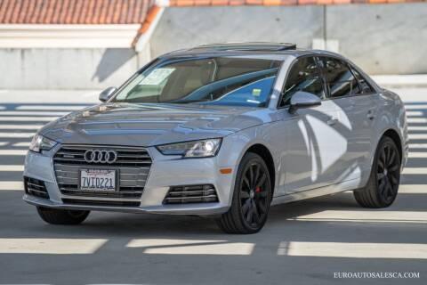 2017 Audi A4 for sale at Euro Auto Sales in Santa Clara CA
