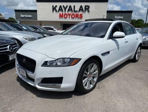 2016 Jaguar XF for sale at KAYALAR MOTORS in Houston TX