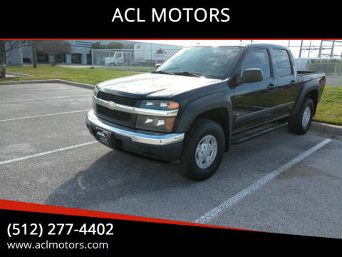 2006 Chevrolet Colorado for sale at ACL MOTORS in Austin TX