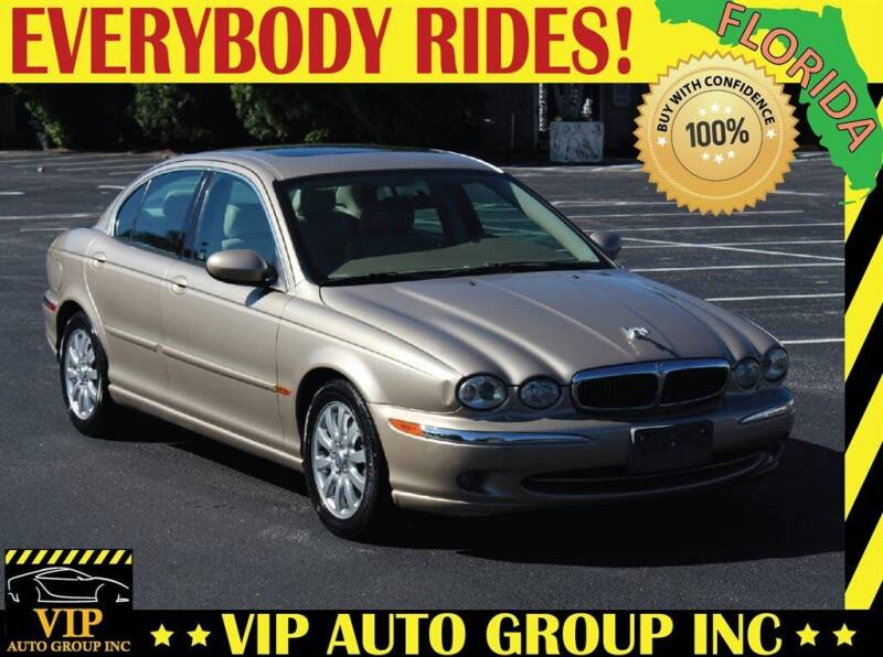 2002 Jaguar X-Type for sale at VIP Auto Group in Clearwater FL