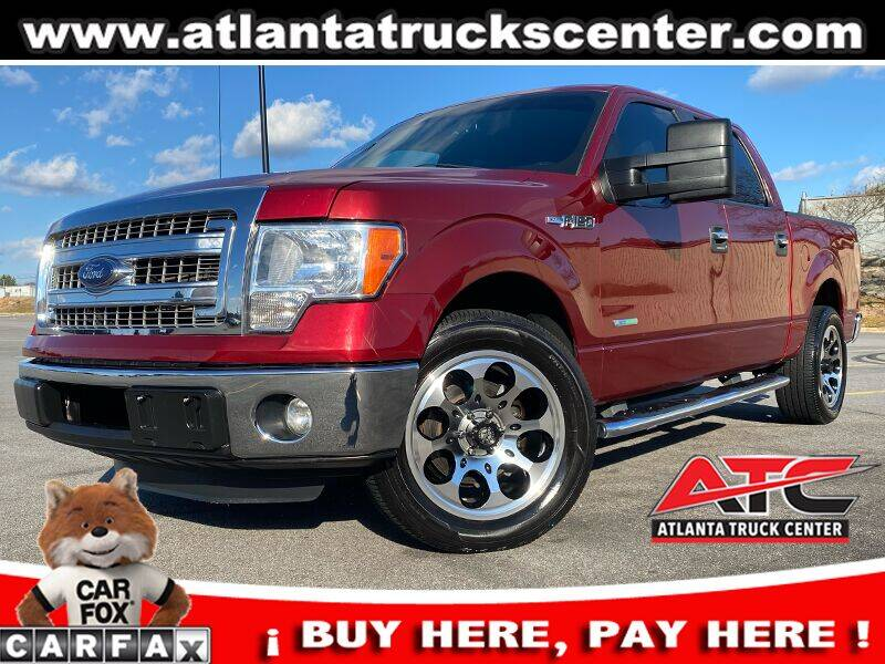 2014 Ford F-150 for sale at ATLANTA TRUCK CENTER LLC in Brookhaven GA