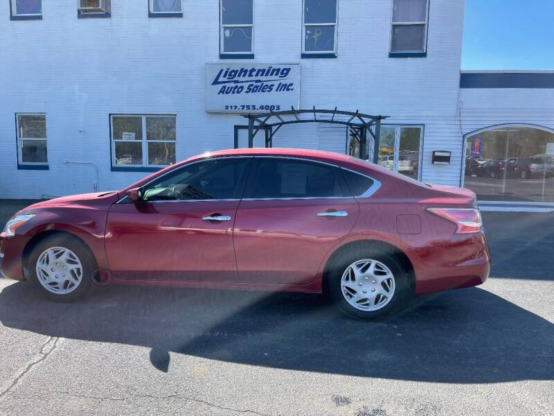 2013 Nissan Altima for sale at Lightning Auto Sales in Springfield IL