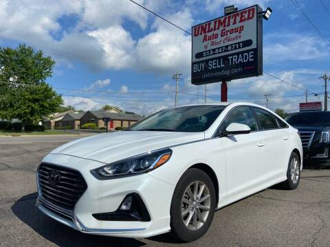 2019 Hyundai Sonata for sale at Unlimited Auto Group in West Chester OH