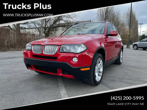 2007 BMW X3 for sale at Trucks Plus in Seattle WA