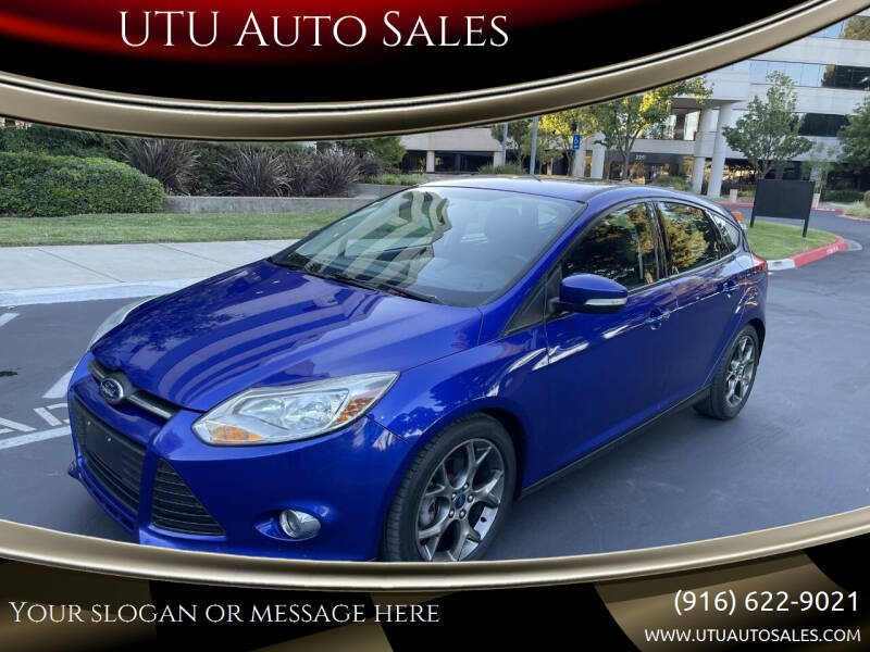 2014 Ford Focus for sale at UTU Auto Sales in Sacramento CA