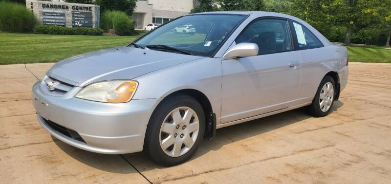 2002 Honda Civic for sale at Lease Car Sales 3 in Warrensville Heights OH