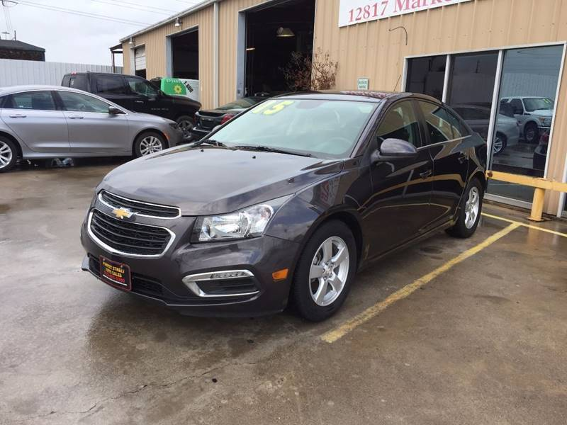 2015 Chevrolet Cruze for sale at Market Street Auto Sales INC in Houston TX