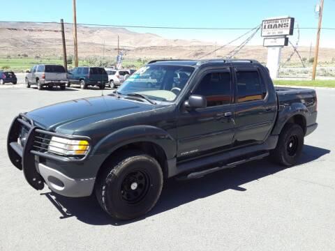 2002 Ford Explorer Sport Trac for sale at Super Sport Motors LLC in Carson City NV