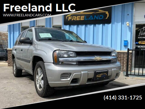 2005 Chevrolet TrailBlazer for sale at Freeland LLC in Waukesha WI