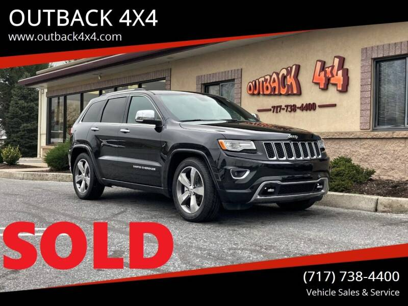 2015 Jeep Grand Cherokee for sale at OUTBACK 4X4 in Ephrata PA