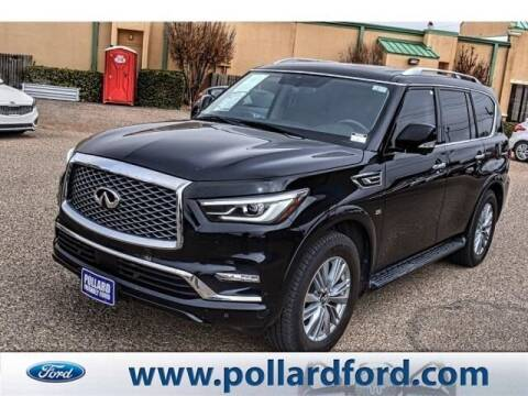 2018 Infiniti QX80 for sale at South Plains Autoplex by RANDY BUCHANAN in Lubbock TX