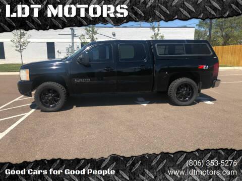 2011 Chevrolet Silverado 1500 for sale at LDT MOTORS in Amarillo TX