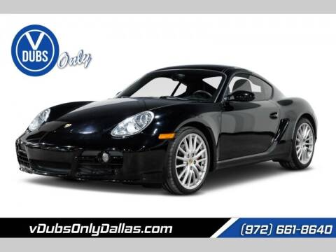 2007 Porsche Cayman for sale at VDUBS ONLY in Dallas TX