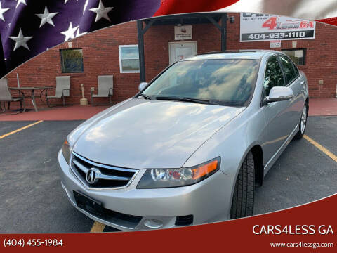2006 Acura TSX for sale at Cars4Less GA in Alpharetta GA