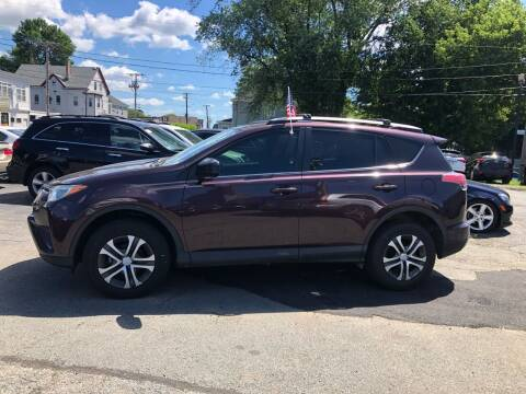 2017 Toyota RAV4 for sale at Top Line Import in Haverhill MA