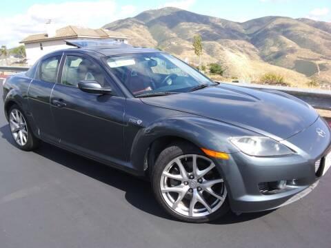 2008 Mazda RX-8 for sale at Trini-D Auto Sales Center in San Diego CA