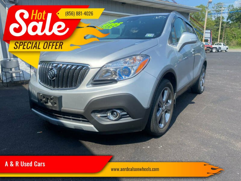 2014 Buick Encore for sale at A & R Used Cars in Clayton NJ