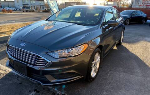 2018 Ford Fusion for sale at The Car-Mart in Murray UT