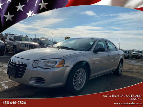 2006 Chrysler Sebring for sale at Auto Tech Car Sales and Leasing in Saint Paul MN