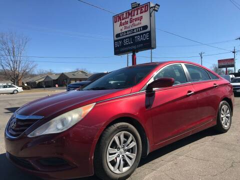 2011 Hyundai Sonata for sale at Unlimited Auto Group in West Chester OH