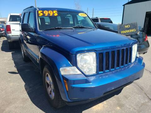 2009 Jeep Liberty for sale at BELOW BOOK AUTO SALES in Idaho Falls ID