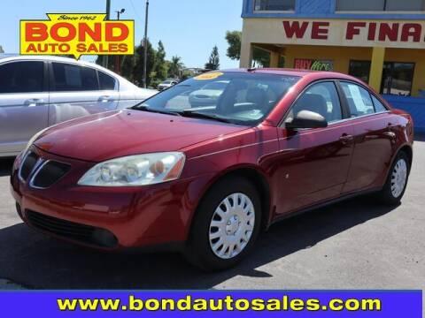 2008 Pontiac G6 for sale at Bond Auto Sales in St Petersburg FL