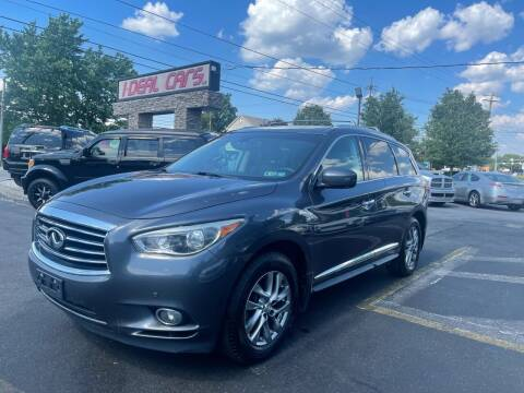 2014 Infiniti QX60 for sale at I-DEAL CARS in Camp Hill PA