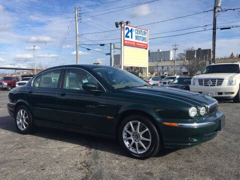 2002 Jaguar X-Type for sale at 21st Century Motors in Fall River MA