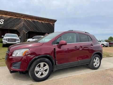 2016 Chevrolet Trax for sale at LAMB MOTORS INC in Hamilton AL