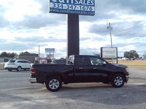 2020 RAM Ram Pickup 1500 for sale at C & H AUTO SALES WITH RICARDO ZAMORA in Daleville AL