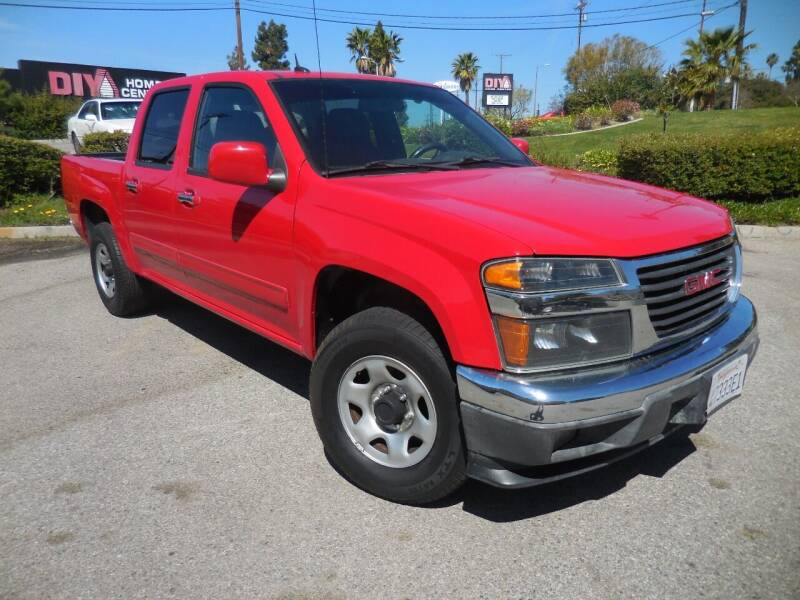 2012 GMC Canyon for sale at ARAX AUTO SALES in Tujunga CA