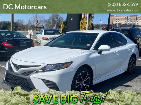 2018 Toyota Camry for sale at DC Motors in Springfield VA