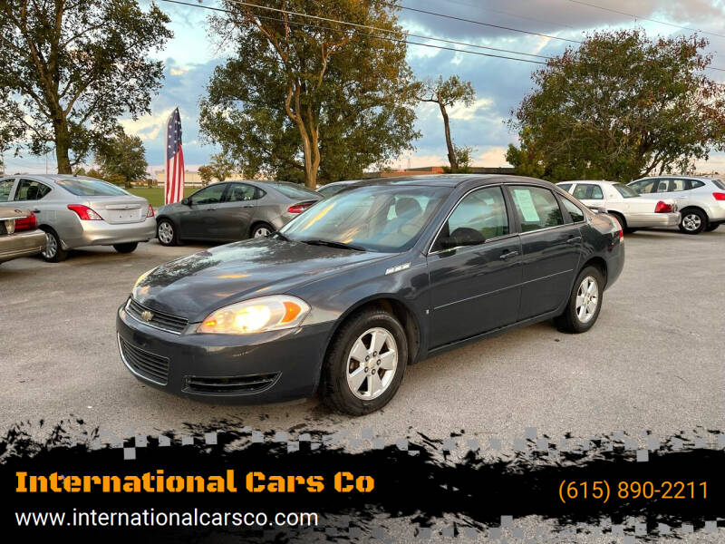2008 Chevrolet Impala for sale at International Cars Co in Murfreesboro TN