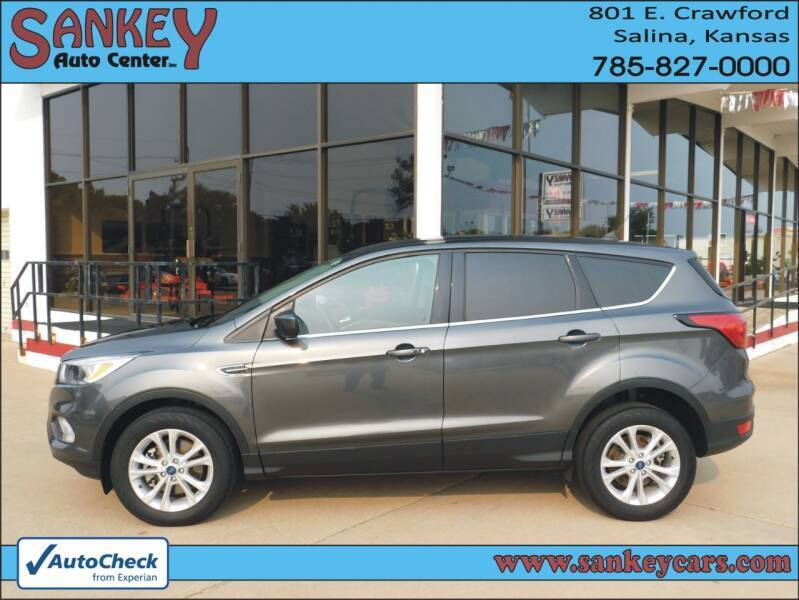 2019 Ford Escape for sale at Sankey Auto Center, Inc in Salina KS