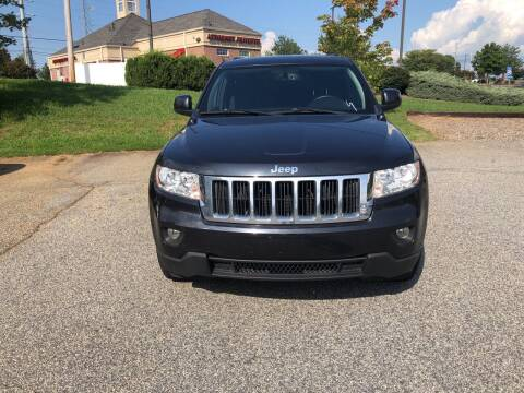 2012 Jeep Grand Cherokee for sale at Bill Henderson Auto Group Inc in Statesville NC